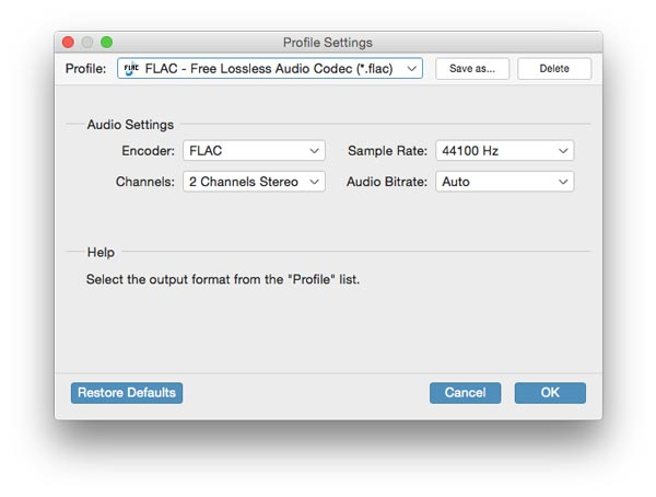 Guide of Using Tipard Any FLAC Converter