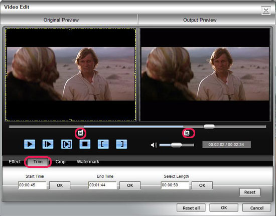 How to Rip BD/ DVD and Convert Video to DivX, MP4, AVI, 3GP, MPEG, FLV, etc. Trim
