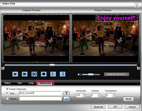 How to Rip BD/ DVD and Convert Video to DivX, MP4, AVI, 3GP, MPEG, FLV, etc. Watermark