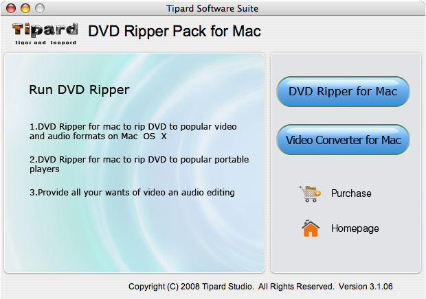 A Best Software Tool to Rip DVD and Convert Video on Your Mac Interface
