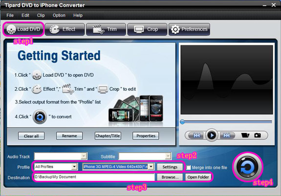 How to Enjoy DVD on iPod /iPhone Interface