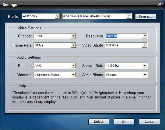 How to Enjoy DVD on iPod /iPhone Settings