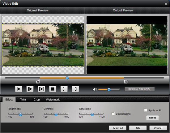 Easy Conversion between Popular Video Formats Trim-1