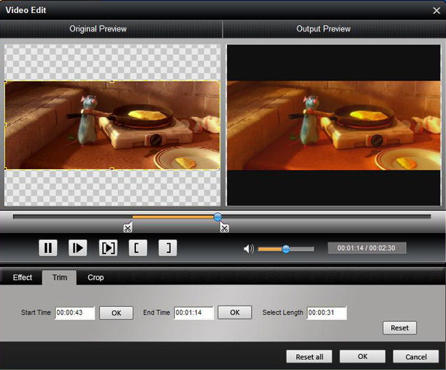 How to Convert Video and Rip DVD to Any Video Formats Trim