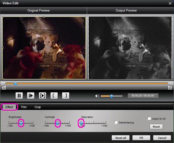 Fully Enjoy Video and Audio on Sony Walkman Effect