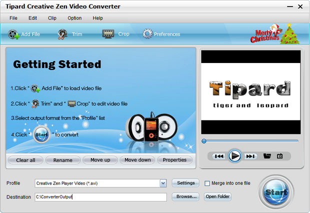 Enjoy DVD and Video on Creative Zen and Quicktime (Windows/Mac) Video-main
