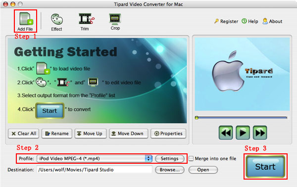 How to Rip DVD and Convert video on OS X Mac-video-converter