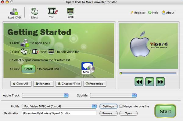 Enjoy DVD and Video on Creative Zen and Quicktime (Windows/Mac) Dvdtomov