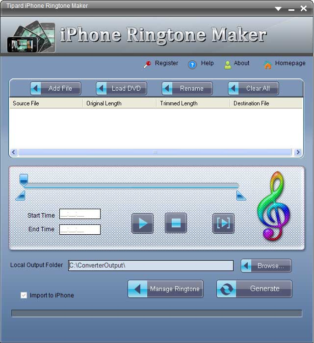 Tipard iPhone Ringtone Maker 4.0.02