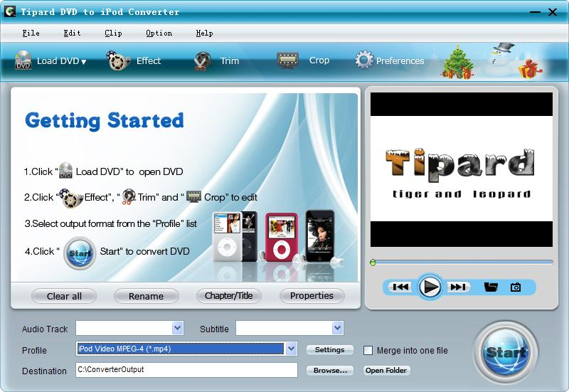 Tipard DVD to iPod Converter
