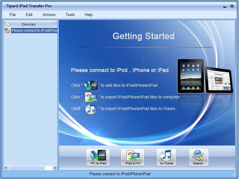 Tipard iPad Transfer Pro