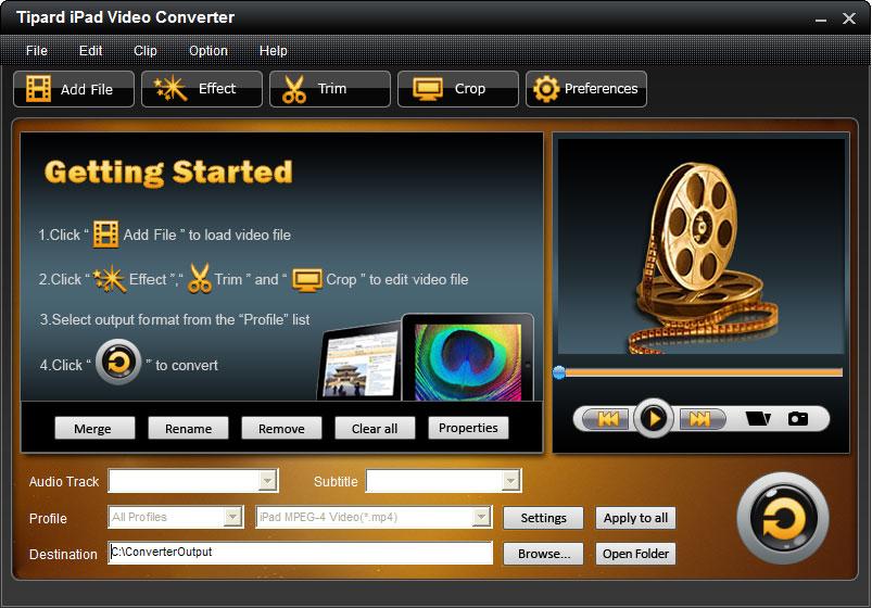 Tipard iPad Video Converter 6.1.28