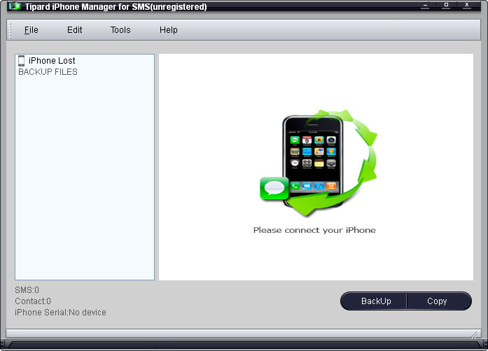 Tipard iPhone Manager for SMS 3.1.08