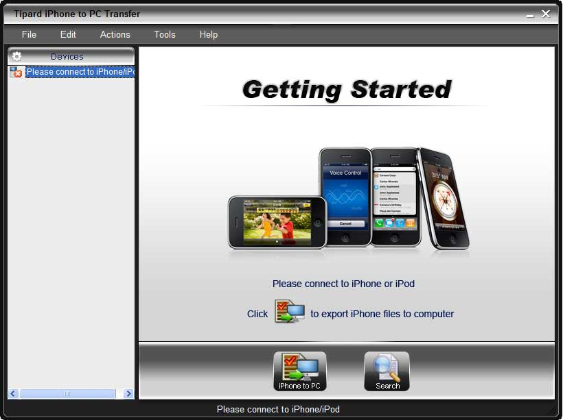 Tipard iPhone to PC Transfer 6.1.10