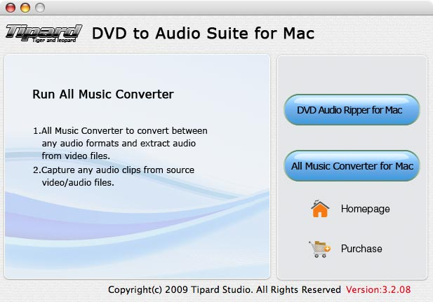 can convert DVD video to audio