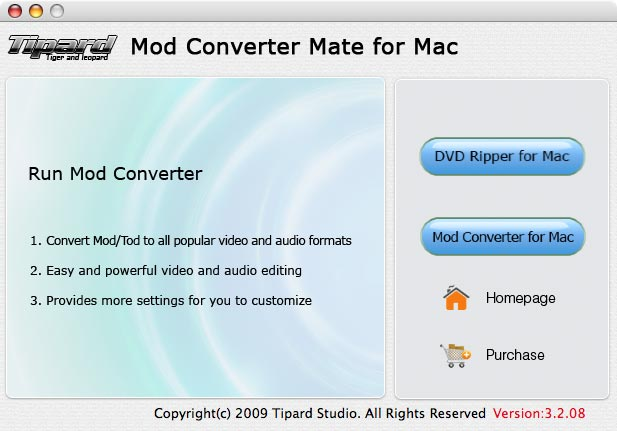 Convert Mod to MP4, AVI, WAV, FLV, 3GP...