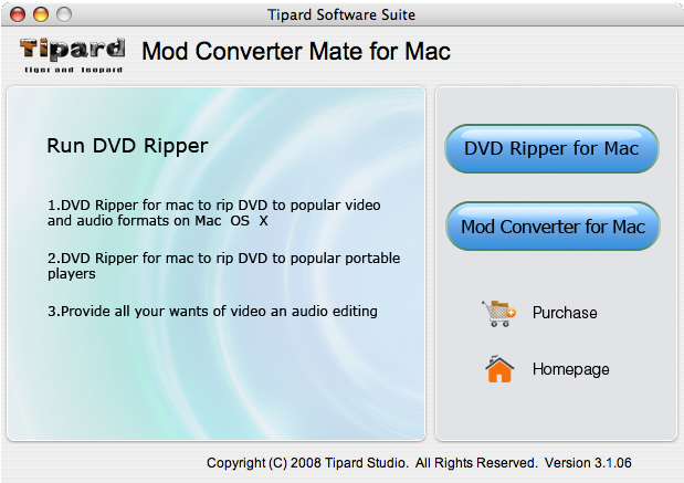 How to Rip DVD and Convert Mod/Tod to popular formats with one tool Mod-converter-mate-sc