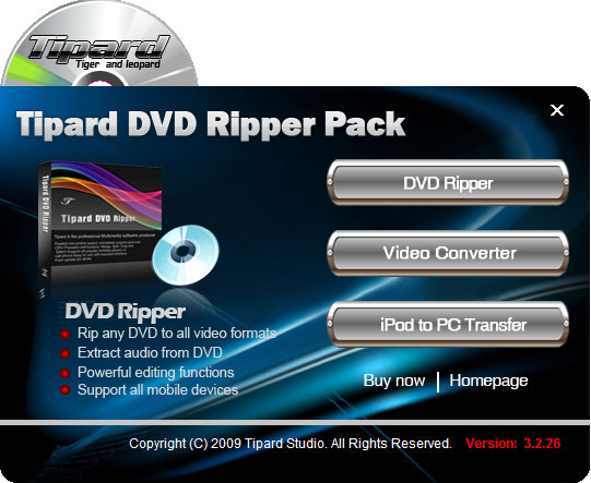 Tipard DVD Ripper Pack 4.2.12
