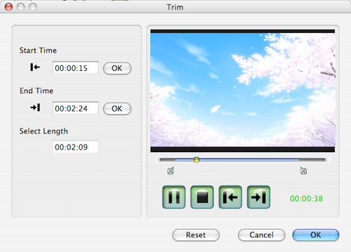 Enjoy Your Favorite Videos on iPod at Will Trim-mac