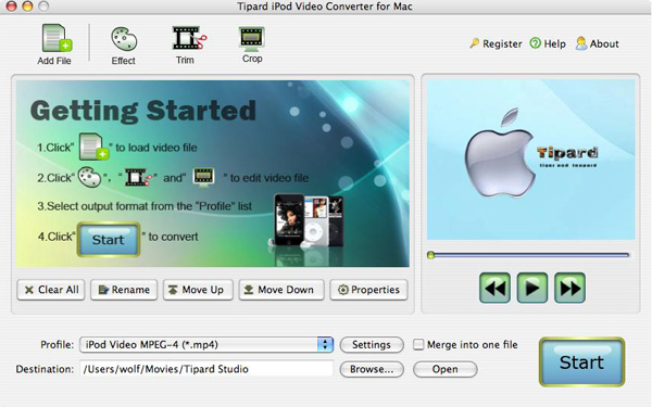 Enjoy Your Favorite Videos on iPod at Will Ipod-mac