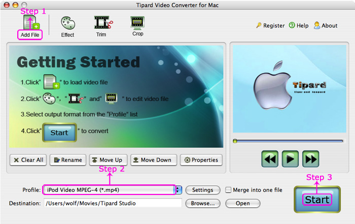 How to Enjoy Videos on Portable Players At Will (Windows/Mac) Video-converter-mac