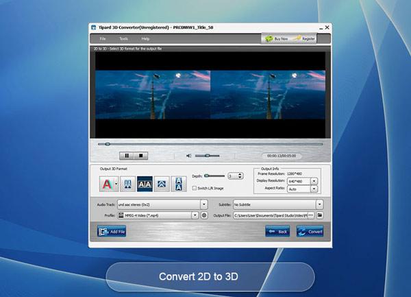 Converter 2D para 3D