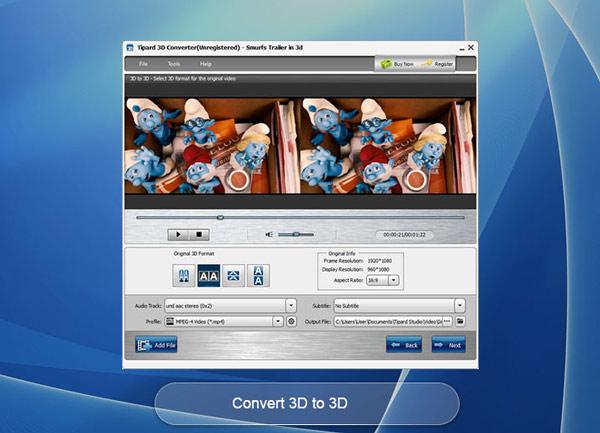 Converter 3D para 3D