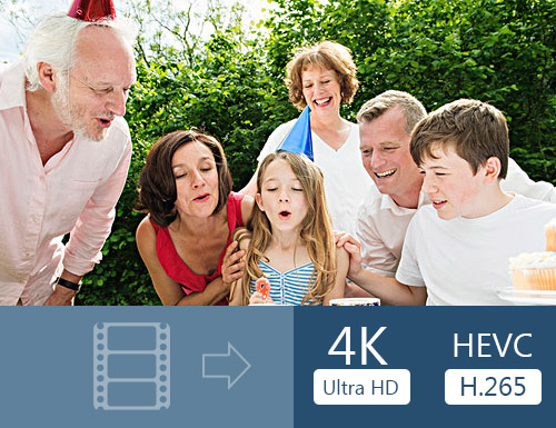 Konverter video til 4K for å nyte på 4K TV