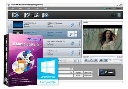 Tipard All Music Converter v6.1.50 ML Incl Crack