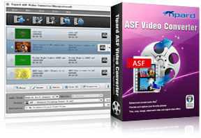 ASF Video Converter Screen
