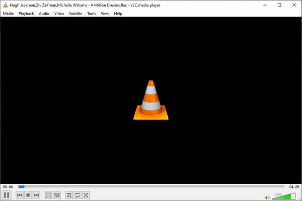 Hrajte Flac s VLC
