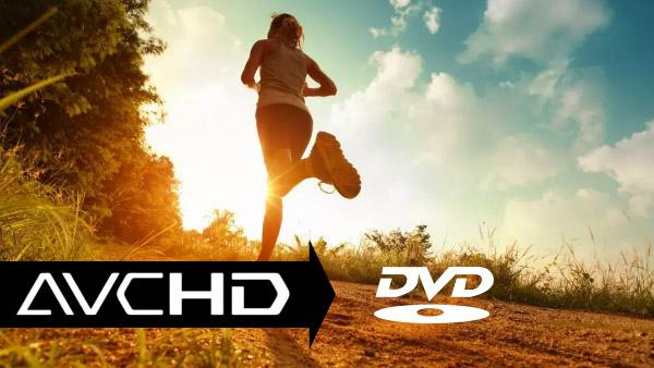 Converti AVCHD / MTS / M2TS in DVD