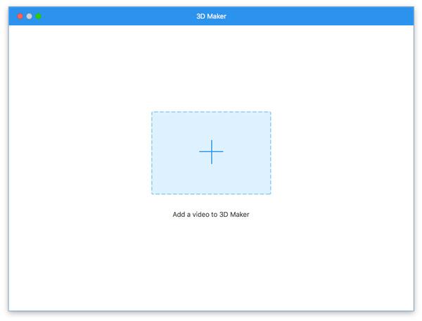 Přidejte video pro 3D tvorbu