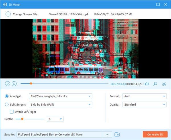 إضافة تأثيرات ثلاثية الأبعاد جديد
