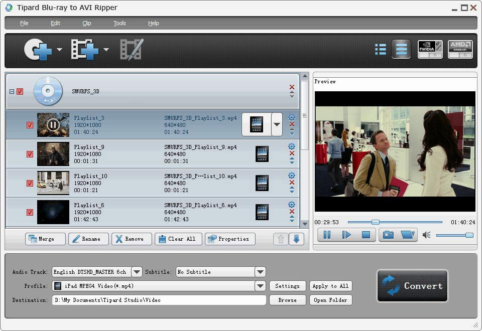 Tipard Blu-ray to AVI Ripper 7.2.10 full