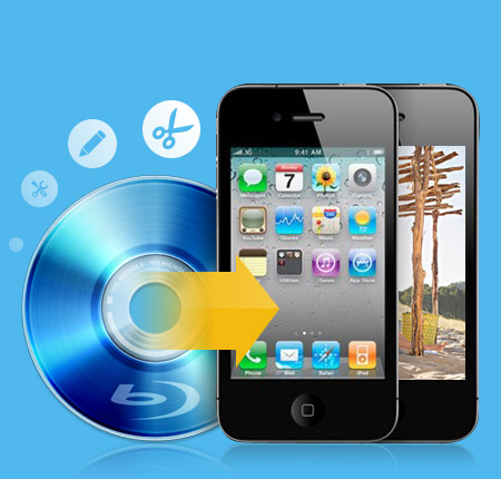 Tipard Blu-ray till iPhone 4 Converter