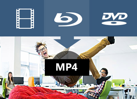 Rip Blu-ray/DVD to MP4
