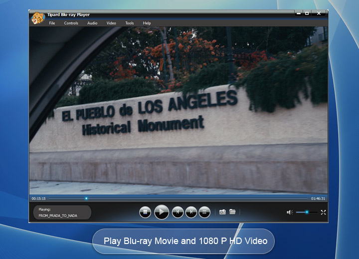 Blu-ray přehrávač