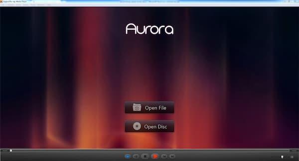 Přehrávač Blu-ray přehrávače Aurora