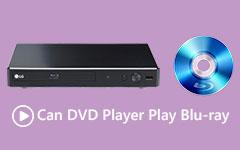 يمكن لمشغل DVD تشغيل Blu-ray