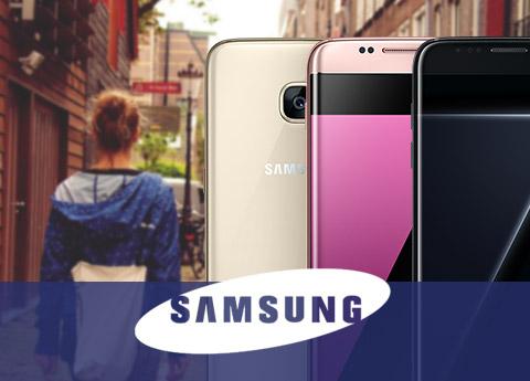 Støtte flere Samsung Galaxy Phones