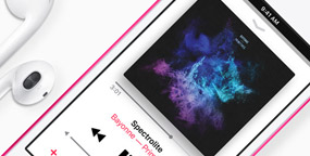 Música no iPod