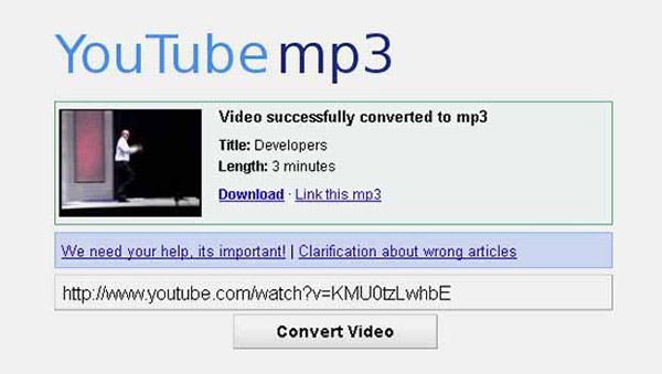 free safe way to convert youtube to mp3