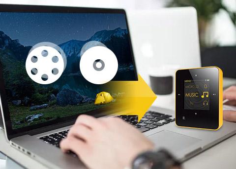 Converti DVD per Creative Zen su Mac