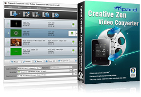 Creative Zen Video Converter Screen