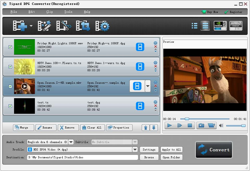 Click to view Tipard DPG Converter screenshots
