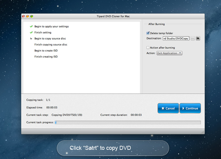 DVD Cloner for Mac - Copy/clone DVD with 1:1 Ratio