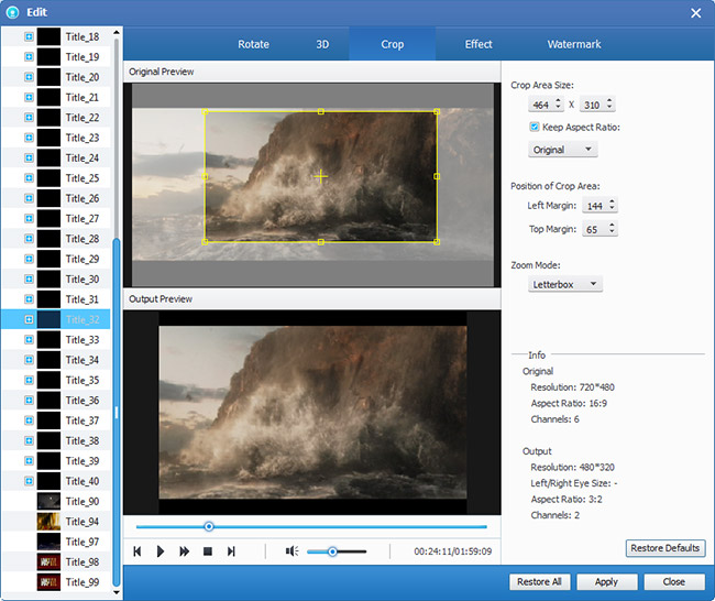 How to Rip DVD to Popular Video Formats Dvd-ripper-crop