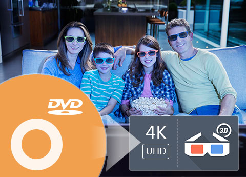 Convert DVD to 4k video