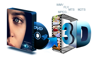 DVD to 3D video Converter